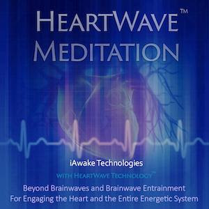 HeartWave Meditation Album Cover